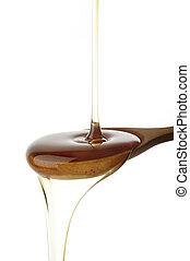 たたきつける, 蜂蜜