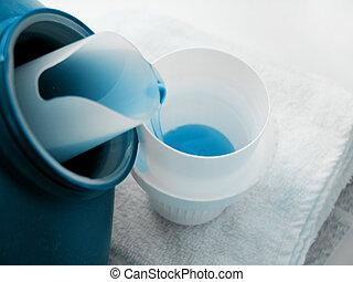 たたきつける, 2, 洗浄剤