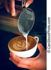 たたきつける, latte