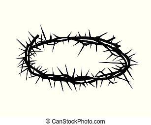 とげ, イエス・キリスト, 主, 王冠