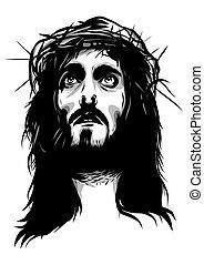 とげ, 顔, 王冠, イエス・キリスト