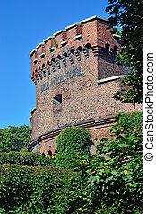 とりで, koenigsberg., -, kaliningrad, wrangel, タワー, ロシア