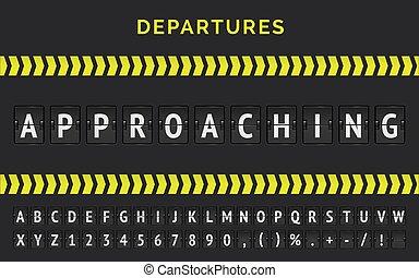 とんぼ返り, 壷, ベクトル, 空港, 飛行, スコアボード, 旗, 現実的, 接近, フライト, ステータス