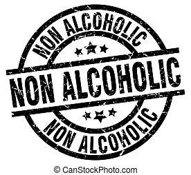 ∥ない∥, グランジ, アルコール中毒患者, 切手, 黒, ラウンド
