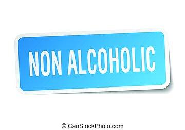 ∥ない∥, 広場, ステッカー, 白, アルコール中毒患者