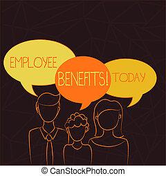 ∥ない∥, 所有するため, 家族, bubble., テキスト, 子供, 父, 現金, 支払われた, 1(人・つ), 母, ∥(彼・それ)ら∥, 意味, 概念, スピーチ, 手書き, ∥間に∥, 従業員, 間接, 補償, benefits.