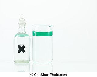 ∥ない∥, 混合, 物質, 中に, 2, 実験室, recipients