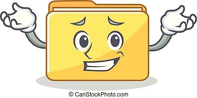 にっこり笑う, フォルダー, 特徴, スタイル, 漫画