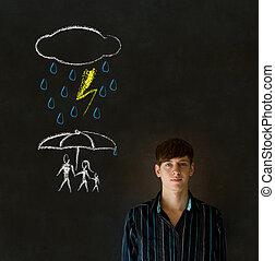 について, 自然災害, 家族, 考え, 黒板, 教師, 背景, 保護, ∥あるいは∥, 人