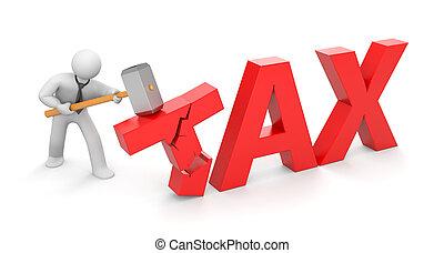 に対して, 税, 人々