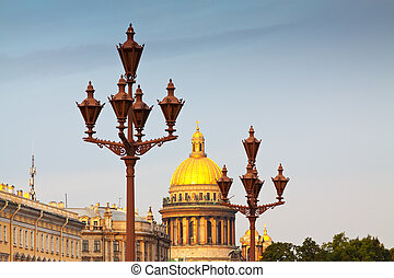 に対して, 街灯柱, isaac's, 聖者, 大聖堂