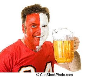 のどが渇いている, スポーツファン