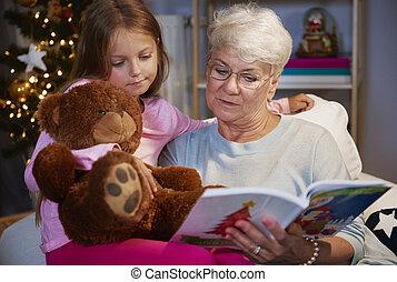 のように, ∥そうするであろう∥, 読まれた, 祖母, 本, 私