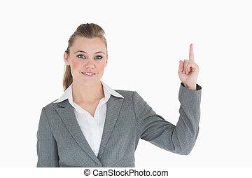 の上, 指すこと, 女性実業家