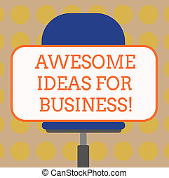 の上, 水平に, 旋回装置, 概念, 単語, ビジネス, モデル, テキスト, 驚くばかり, 考え, 執筆, 形, 偉人, chair., business., ブランク, 成長する, 作戦, 長方形, 驚かせること, ステッカー