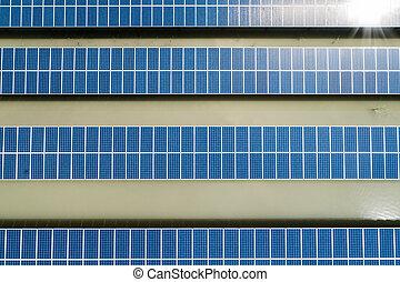 の上, 駅, 太陽エネルギー