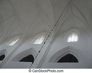 の の中, a, 教会