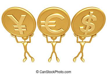 はい, 通貨