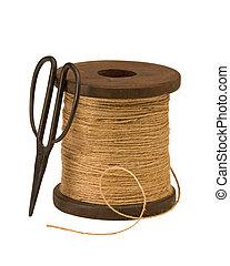 はさみ, より糸, 庭