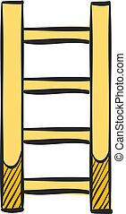 はしごの色, アイコン, drawing.