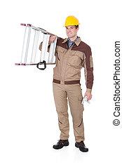 はしご, 機械工