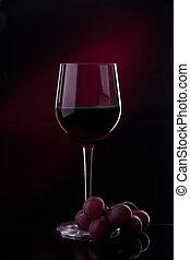 はねかけること, wina, アルコール, びん, 赤