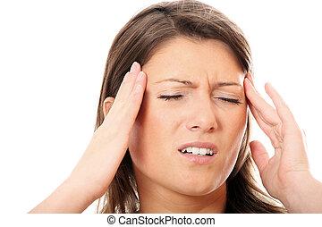 ひどい, 頭痛