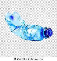 びん, プラスチック