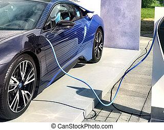 ふさがれた, ある, 電気自動車
