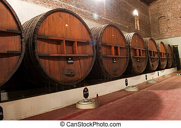 ぶどう酒貯蔵室