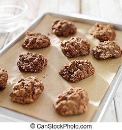 べーキングクッキー, 焼きなさい, シート, いいえ