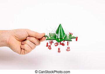 まねをする, excess., 手, 指示, 締まりなさい, 切口, star., コーン, 低下, 糸, 上, 技能, 作りなさい, クリスマス, 手掛かり, ペーパー, それ, いかに, のり, ステップ, 木。, 小さい