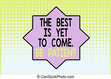 もう, 消失, pattern., 背景, showcasing, design., 点, 勾配, 最も良く, ありなさい, 執筆, ビジネス, dont, ライト, 提示, メモ, 暗闇, patient., 後で, 失いなさい, futuristic., 来なさい, 希望, 中央, 写真