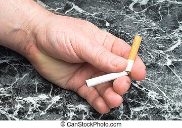 やめられる, 喫煙
