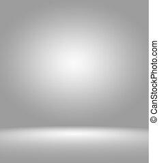 ゆとり, 空, カメラマンの スタジオ, 背景, 抽象的, 背景, 手ざわり, の, 美しさ, 暗い, そして, ライト, ゆとり, 青, 寒い, 灰色, 雪が多い, 白, 勾配, 平ら, 壁, そして, 床, 中に, 空, 広い, 部屋, 冬, 内部