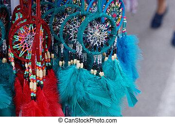 よい, -, 羽, 多色の糸, お守り, 技能, 睡眠, こつ, 市場