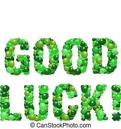 よい, luck!