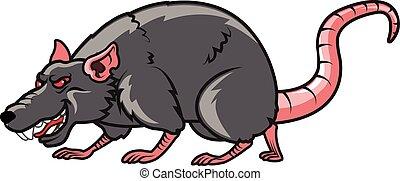 よこしまである, ネズミ