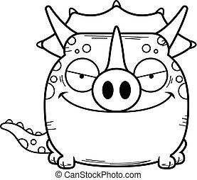 よこしまである, triceratops, 漫画