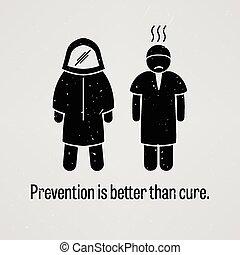 よりよい, 治療, より, 防止
