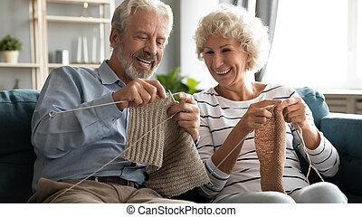 より古い, 幸せ, 祖父母, home., 活動, 趣味, 楽しむ