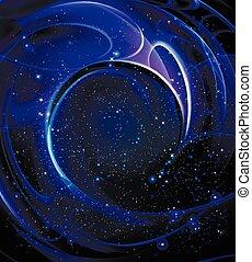 らせん状の銀河