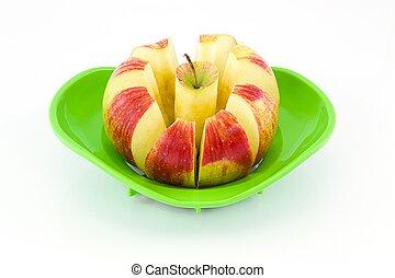 りんごの切れ