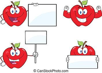 りんご, セット, 特徴, コレクション, 8