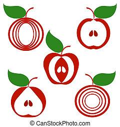 りんご, セット