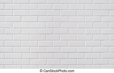 れんが, 白い背景, 壁
