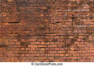 れんが, 赤い壁