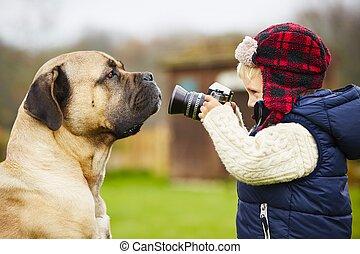 わずかしか, カメラマン