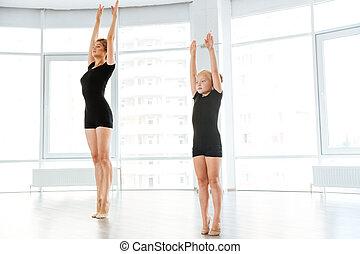 わずかしか, バレリーナ, 持つこと, クラス, ∥で∥, 個人的, バレエ, 教師