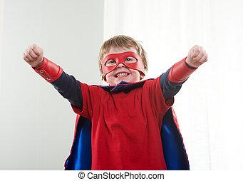 わずかしか, 力, 極度, superhero